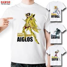Gold Saint Seiya Charakter All Star T-shirt Design Manga Anime T-shirt Kühlen Neuheit Lustiges T-shirt Stil Unisex Druck Mode t