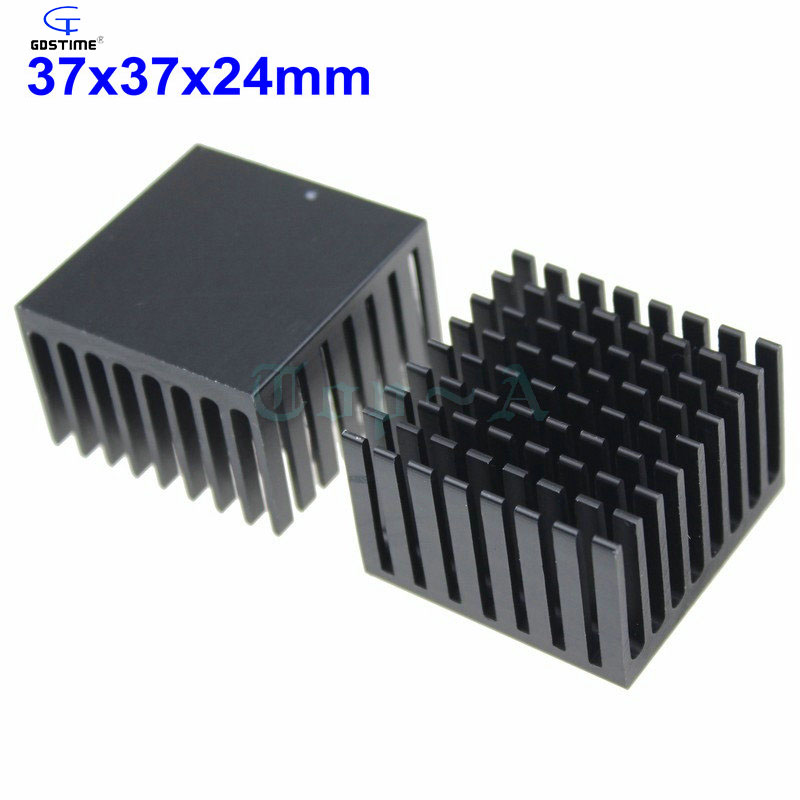 10 Pieces//lot 37x37x24mm BGA Packages CPU Cooling Heatsink Heat sinks Radiator