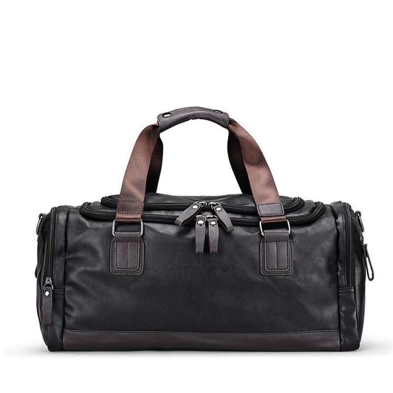 Men's Handbag Waterproof Leather Totes Male Shoulder Bag Large Capacity Travel Bag Luxury Designer Fashion Men Messenger Bags клип кейс gresso glass edge для apple iphone xs max ночь с рисунком