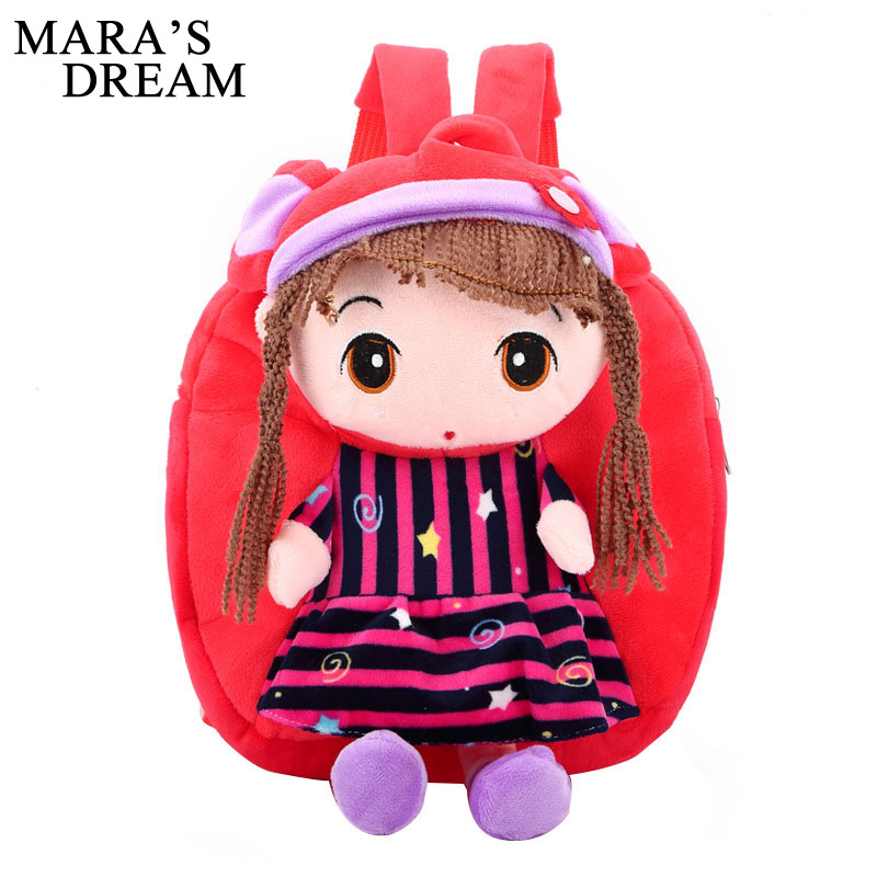 Mara's Dream Cartoon Kids Backpacks Baby Toy Schoolbag Student Kindergarten Backpack Cute Children School Bags For Girls Mochila delune new european children school bag for girls boys backpack cartoon mochila infantil large capacity orthopedic schoolbag
