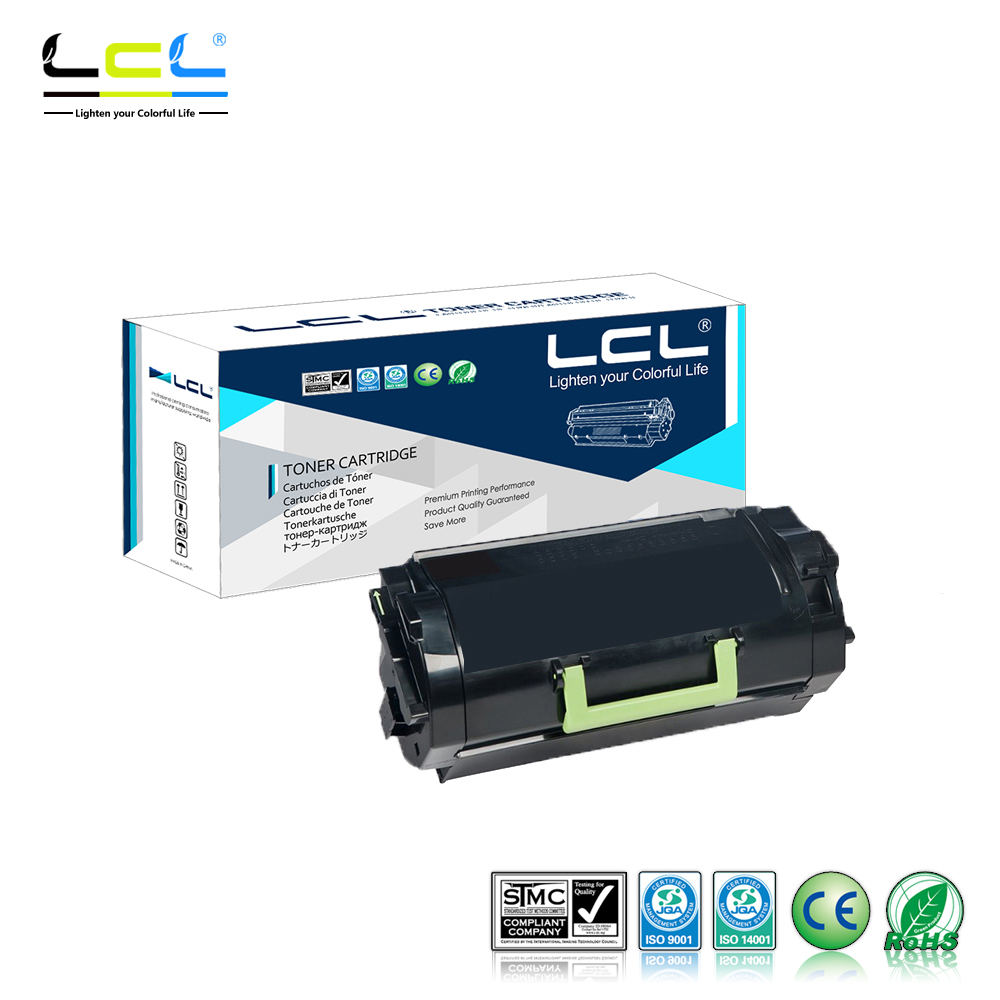 LCL 521 52D1000 522 52D2000 (1-Pack Black) Toner Cartridge Compatible for Lexmark MS810N/MS810DN/MS810DE/MS810DTN/ chip for ibm ip1832 n for lexmark x654 mfp for lexmark t 656dne universal toner chips free shipping