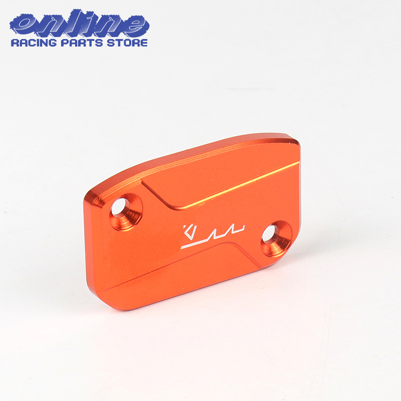 Front Brake Reservoir Cap Master Cylinder Cover for KTM SX SXF XC EXC XCF EXCF 125 144 150 200 250 300 350 400 450 500 525 530 motorcycle front rider seat leather cover for ktm 125 200 390 duke