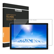 MEGOO Surface Pro 6 Tempered Glass Screen Protector Compatible for Microsoft Surface Pro 5/4 12.3 Inch