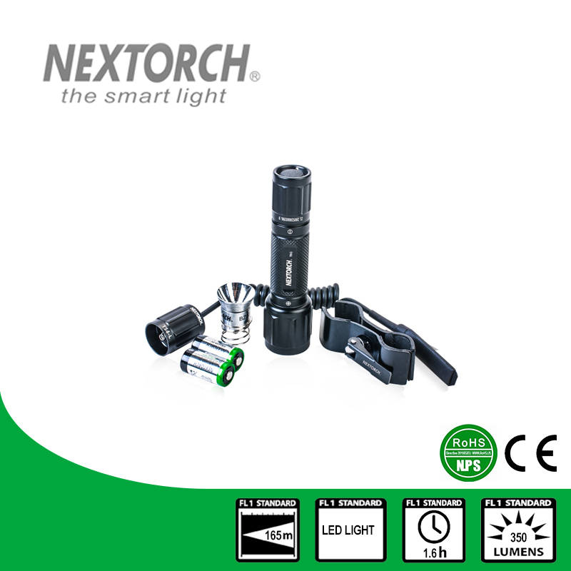 NEXTORCH New Tactical Hunting Aerospace Grade White And Green Light Shockproof Aluminum Waterproof Led Flashlight Set#T6G SET nextorch ta3 set