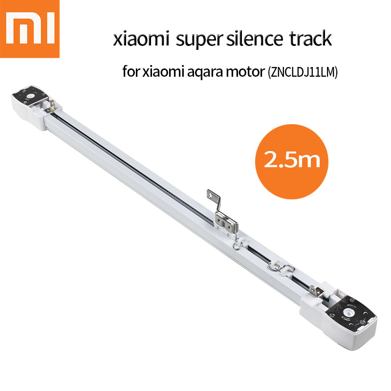Electric Curtain Track For Xiaomi Aqara /Dooya KT82/DT82 Motor Customizable Super Quite For Smart Home For 2.5m Or Less