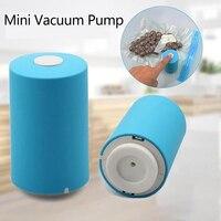 USB Mini Automatische Kompression Vakuum Pumpe Househoud Sealer Clamp Snack Frische Lebensmittel Stange Streifen Küche Werkzeug Mit 5 Taschen Organizer|Taschenclips|Heim und Garten -