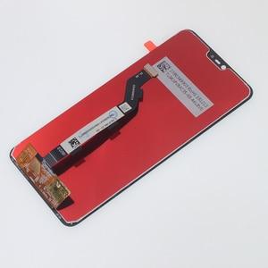 "Image 3 - 6.26 ""الأصلي LCD ل Xiao mi mi 8 لايت mi 8X شاشة الكريستال السائل مجموعة المحولات الرقمية لشاشة تعمل بلمس ل Xiao mi mi 8 لايت LCD إصلاح أجزاء"