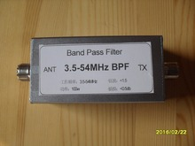 BPF-3.5-54 3.5-54MHz band pass filter BPF improves the anti-jamming capability of shortwave bandpass