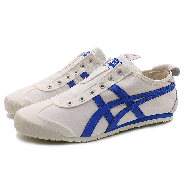 pretty nice 4c418 c6f25 US $100.0 |2018 ONITSUKA TIGER Women Canvas Shoes Men Hard Wearing  Breathable Comfortable Simple Sneakers Lazy Non slip Badminton Shoes-in  Badminton ...