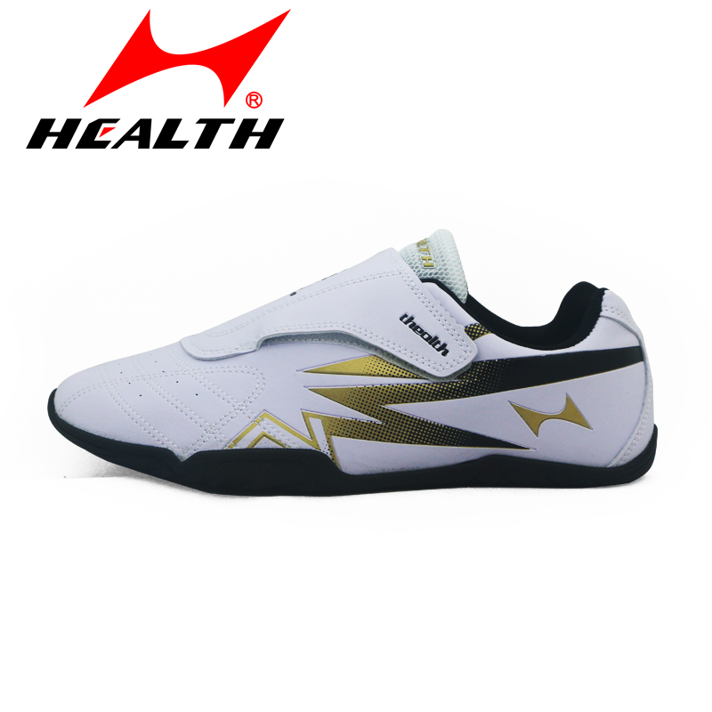 Health Taekwondo-Shoes Wrestling Fight Training Men Breathable Rubber-Bottom Adult Kids