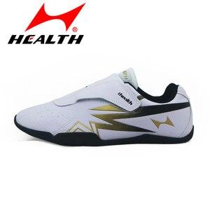 Zapatos de Taekwondo para niños y mujeres calzado transpirable de fondo suave parte inferior de goma, para entrenamiento, para adultos, lucha DE LUCHA
