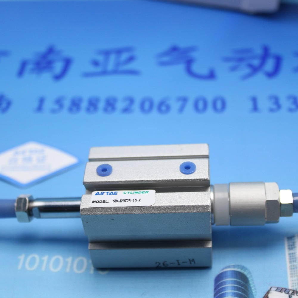 SDAJ20*25-10-B AIRTAC Thin cylinder air cylinder pneumatic component air tools SDAJ series su50 400 s airtac thin three axis cylinder with rod air cylinder pneumatic component air tools