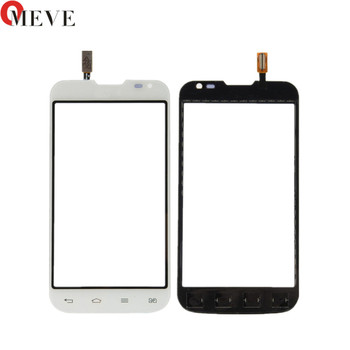 20pcs/lot 100% TEST Black High Quality 4.5 Inch Touch Screen Digitizer Front Glass Panel For LG L70 D325