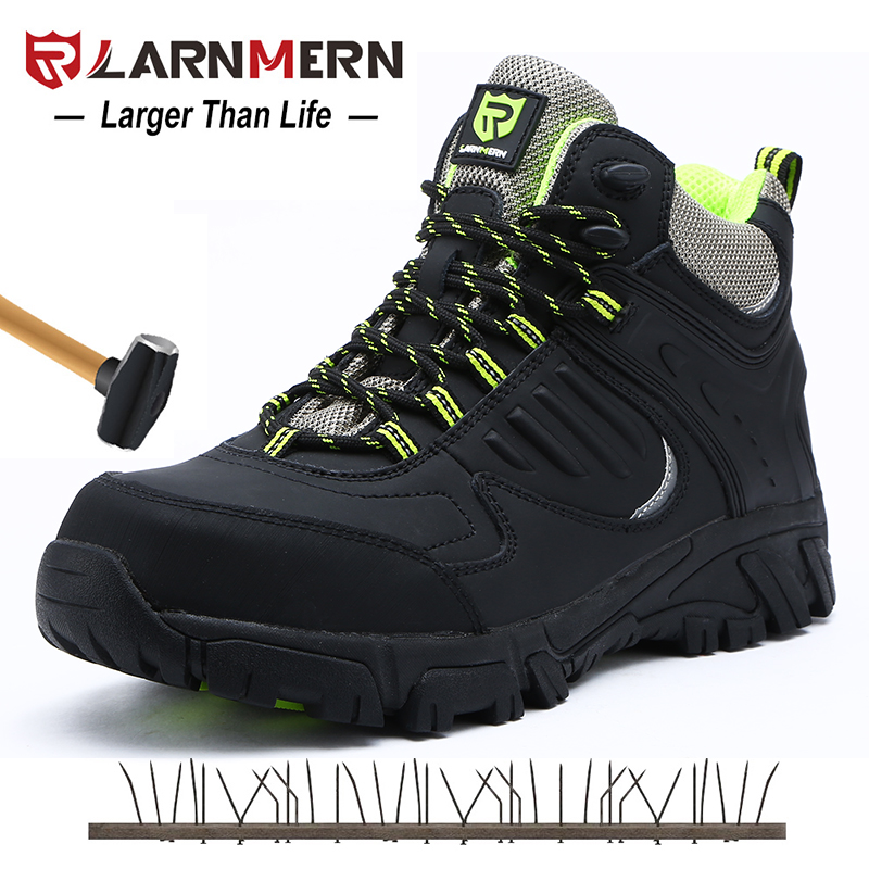 Intelligent Men Boots Male Rubber Combat Ankle Work Safety Shoes Size 40-46 Autumn Winter Snow Boots Men Sneakers Men's Shoes