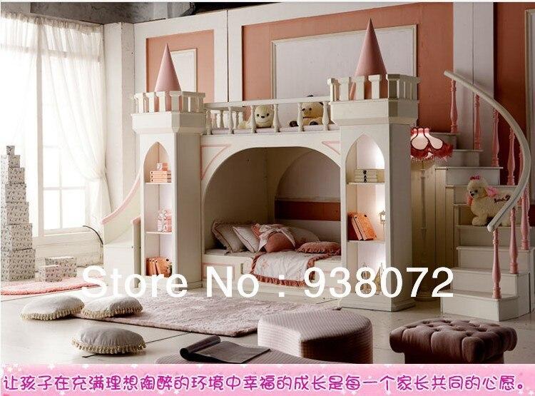 Free Shipping Kids Furniture Bedroom Set Bunk Bed Princess Castle Children  Bed In Children Furniture Sets From Furniture On Aliexpress.com | Alibaba  Group