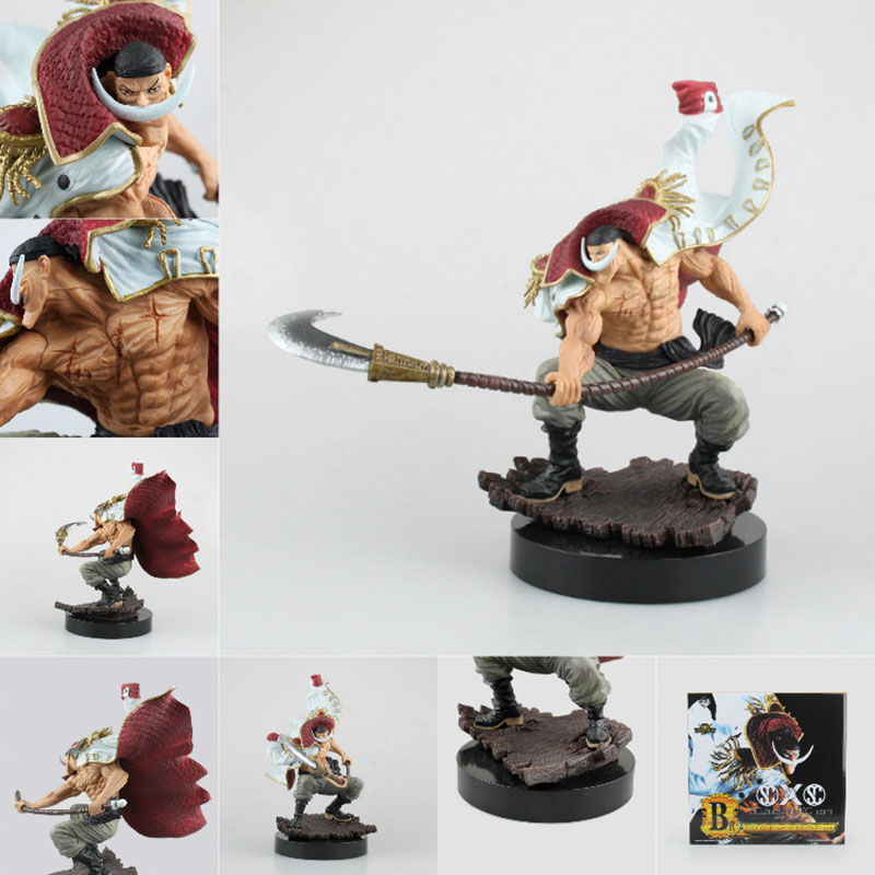 Anime One Piece White Beard Action Figure 1/7 scale painted figure Edward Newgate PVC action figure Collection Model toys gift best hot anime one piece action figure newgate arrogance model doll pvc action figure collection anime toy
