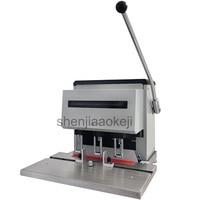 Vender Máquina de perforación eléctrica de tres agujeros de 220 240 v máquina de encuadernación de documentos