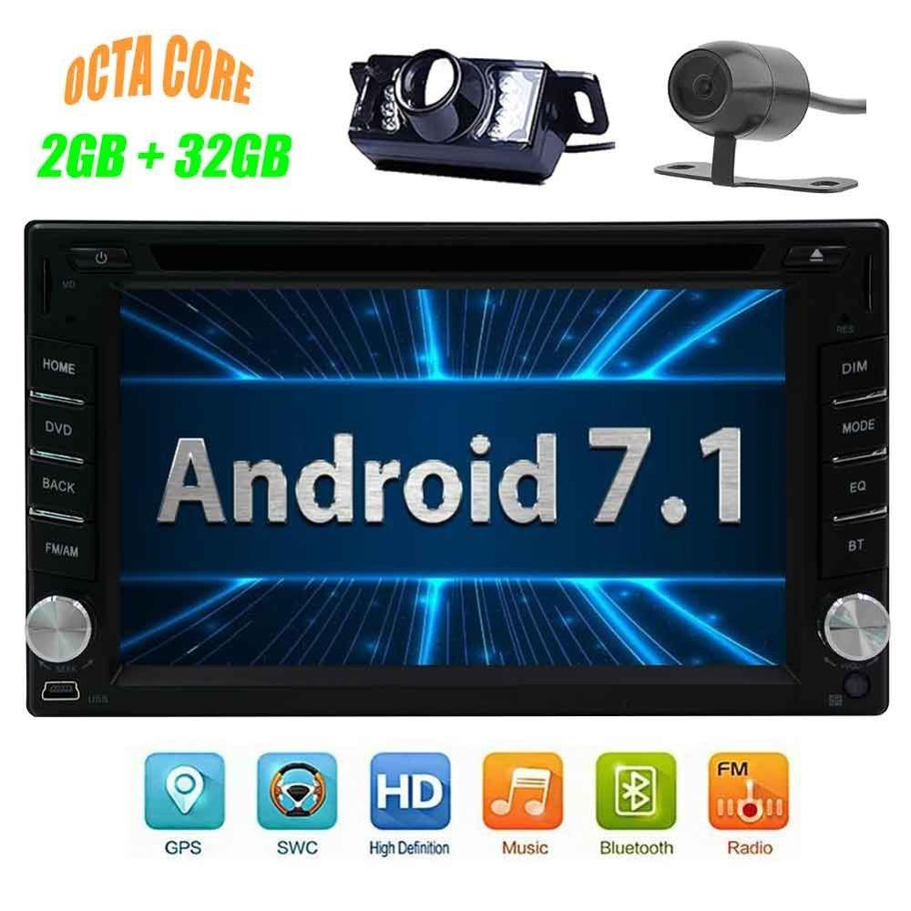 2 DIN Android 7 1 car DVD GPS autoradio stereo radio navigation support 4G font b