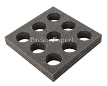 Akcesoria części torba dostawcza na pizzę wyjąć zatrzymywanie ciepła pudełko specjalny stojak na kubki z pianki 9 otworów wyjąć dostawę żywności tanie tanio BAC003 packiaexpert Z tworzywa sztucznego 1 6KG Foam