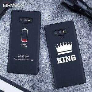 Image 3 - Zwarte Matte Patroon Case Voor Samsung Galaxy A6 Plus 2018 Note 9 A8 S9 S8 Plus S7 Rand A5 A3 a7 J7 J5 J3 2017 Cool lPhone Covers