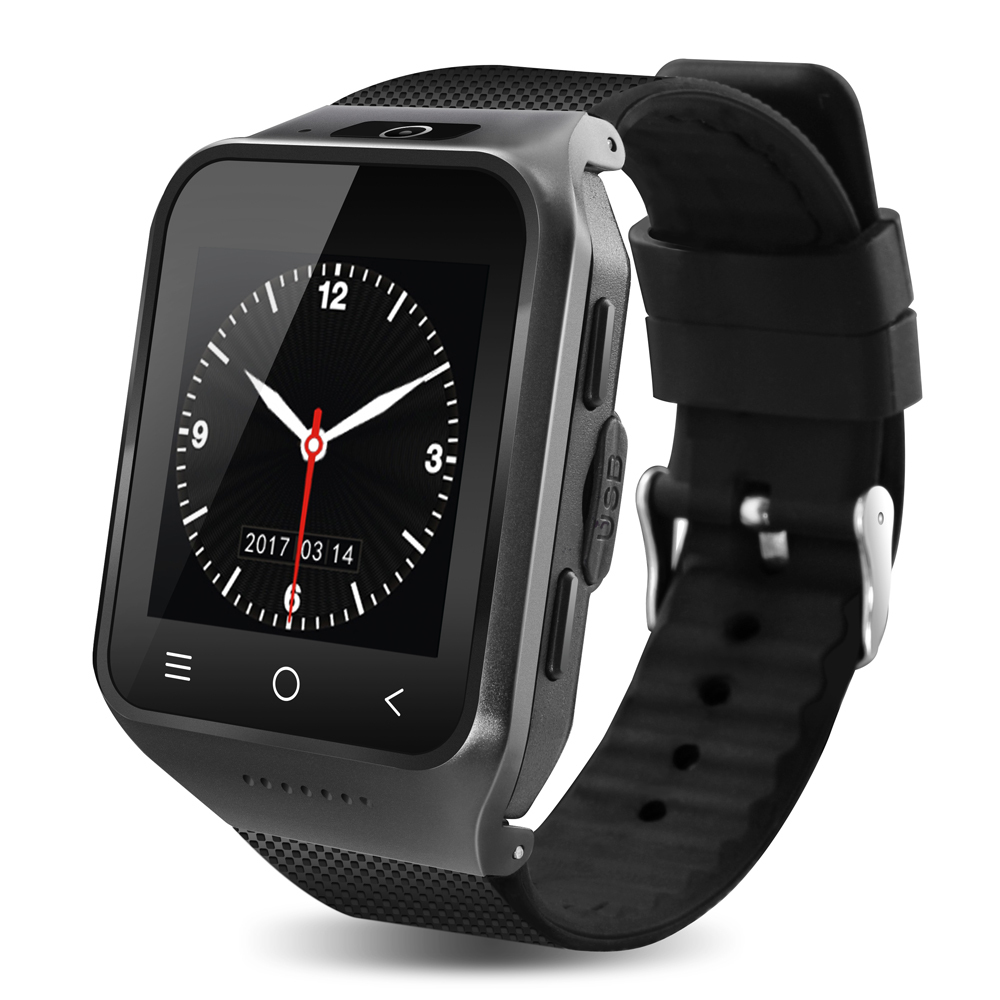 ZGPAX S8 Bluetooth Smart Watch 1.54 GPS MTK6572 Dual Core Android Smartwatch 2.0MP Cam SIM 3G WiFi 512MB 4GB Phone Wristwatch