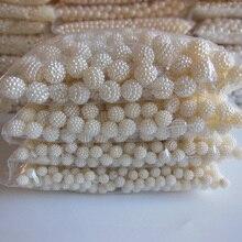 Waxberry bola de la perla Accesorios Para el Cabello diy alta imitación perlas al por mayor de la belleza del teléfono de DIY esencial 10mm-20mm 500g