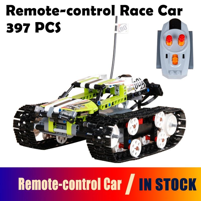 Compatible with Lego Technic 42065 model 20033 1347pcs RC Track Remote-control Race Car building blocks Bricks toys for children 2793pcs technic remote controlled arocs truck 20005 building kit 3d model blocks minifigures toys bricks compatible with lego
