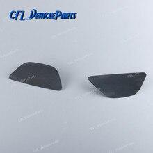 Pair Left Right Headlight Washer Cover Cap Unpainted 51117332669 51117332670 For BMW F07N 535i 550i 535ix 550ix 2013-2016