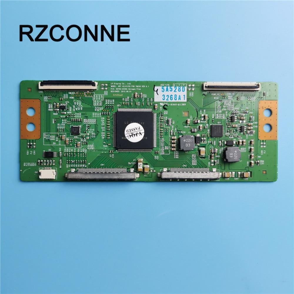 T-con Board For LG 42/47/55 FHD TM240 VER0.1 6870C-0450A  Screen LC500EUD