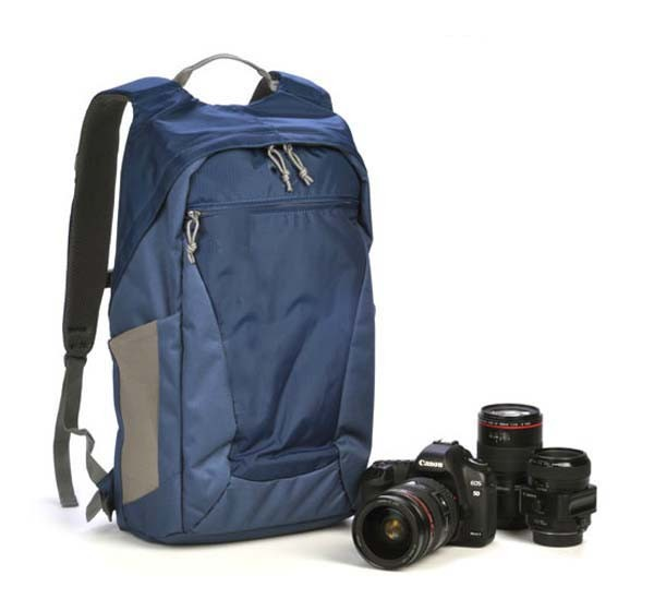 EMS Free DSLR Photo Hatchback 22L AW DSLR Camera Bag Daypack Backpack with All Weather Cover