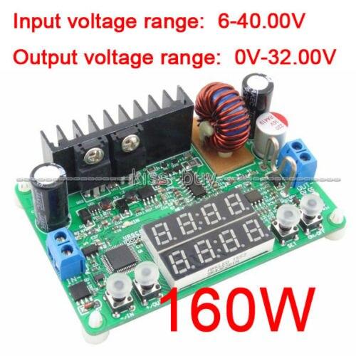 32V 5A 160W Digital-controlled Step-Down Buck 5v 12v 24v  Power supply constant voltcurrent