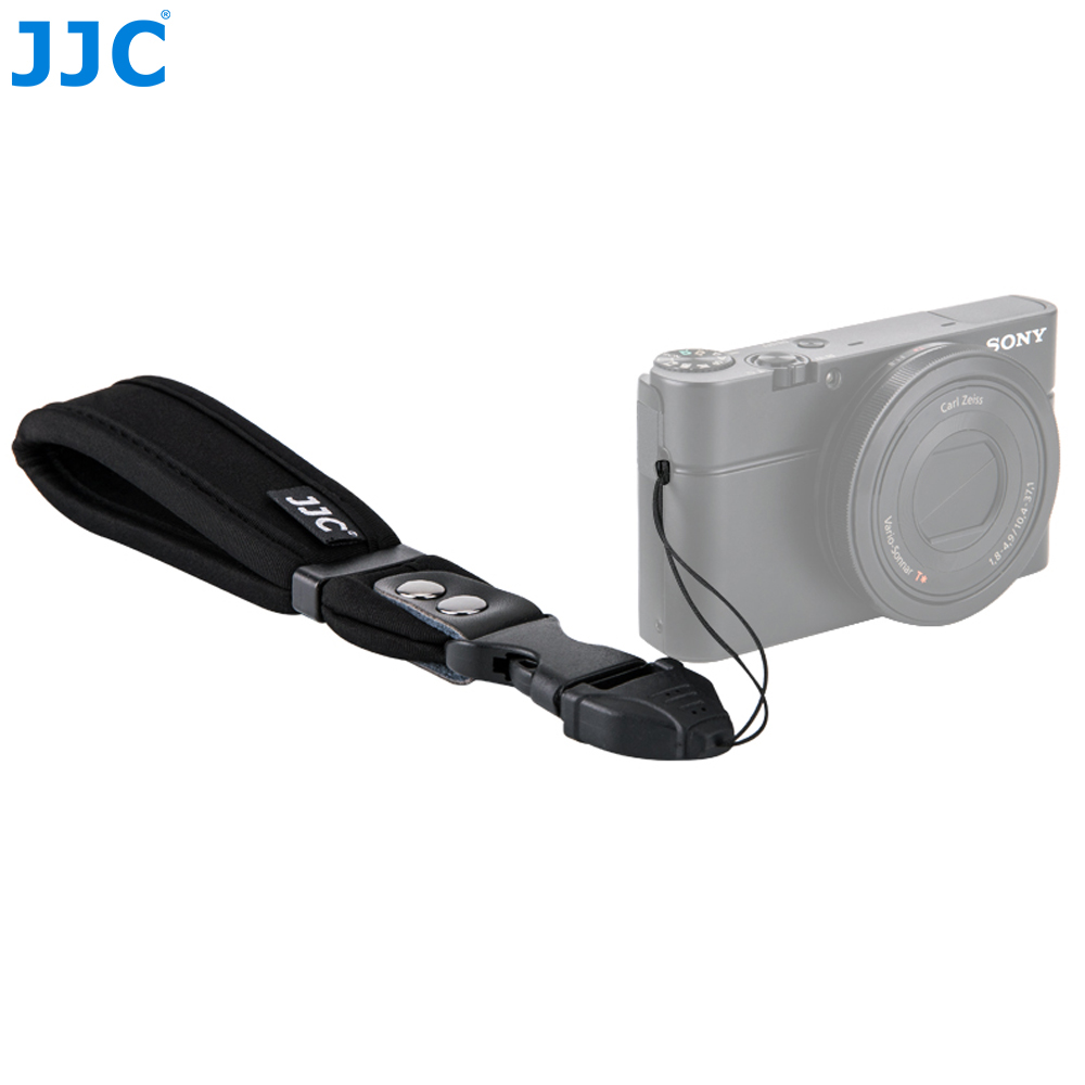 US $8 63 10% OFF JJC Hand Belt Sling Compact Mirrorless Camera Wrist Strap  for Canon EOS M100/M6/Sony A7RIII/A6300/A6000/Fujifilm GFX 50S-in Camera