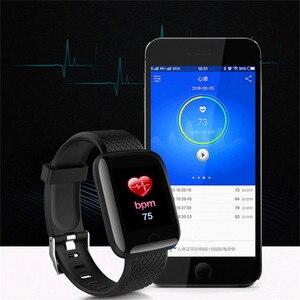 Image 4 - Mode Sport Smart Uhr Männer Frauen Für Android IOS Smartwatch Fitness Tracker Wasserdichte Intelligente Uhr Smartwach Neue Armbanduhr