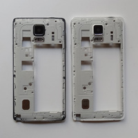 Original Note4 Housing Middle Frame Panel Case With All Small Parts For Samsung Galaxy Note 4