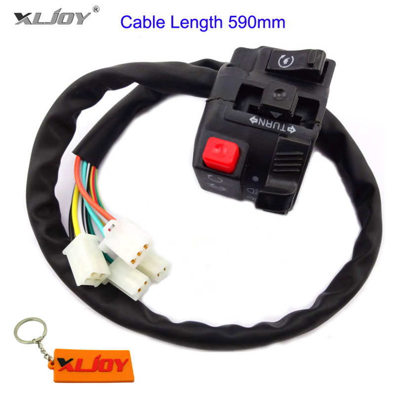 4 Function ATV Handle Switch Control With Choke Lever 50 110 125 150 200 250cc