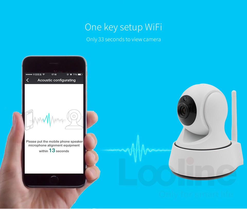 SunEyes SP-V702W 720P HD Mini Dome IP Camera Outdoor Wireless Wifi Weatherproof ONVIF and RTSP with Free P2P Metal Alloy Case