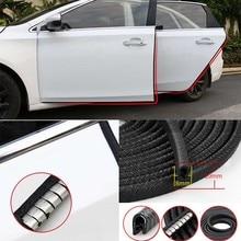Universal 5M Car Door Edge Scratch Protector Strip Sealing Guard Trim Automobile Door Stickers Decoration Protector Accessories недорого