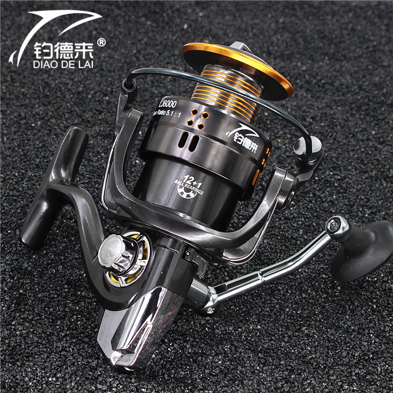 2017 New Fishing reel 9000 full metal wire cup Big long Shot sea salt water daiwa