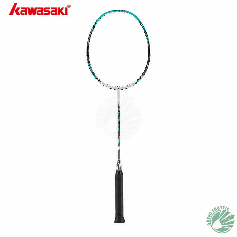 2019 New Full Carbon Kawasaki Badminton Racket 100% Original Kawasaki Raquette Control the ball With Gift