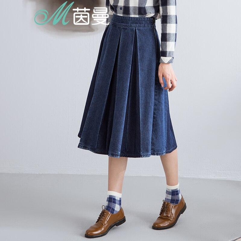 Юбки женские средней длины