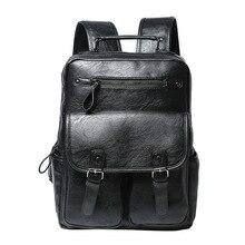 ETONWEAG New 2017 women famous brand Italian leather black zipper fashion backpacks luxury school bags casual laptop travel bag