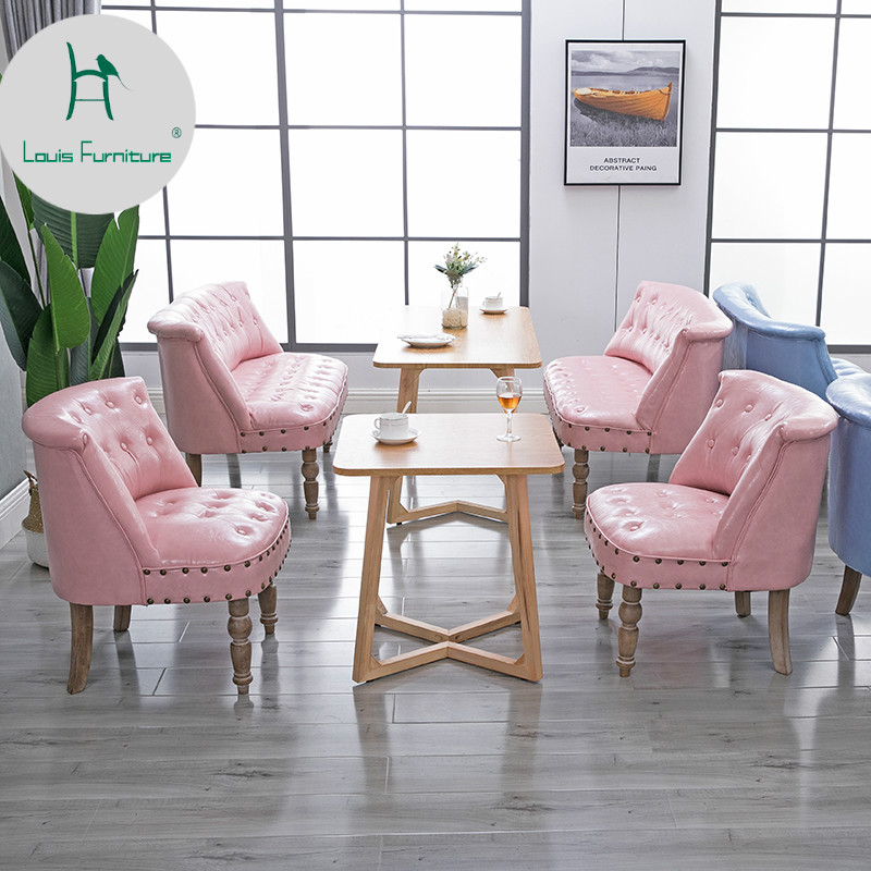 Dining Chairs Furniture French Fashion Style Chairs Popular Stools Coffee House Wine Bar Restaurant High Quality With Strong Leg And Cushion Armchair