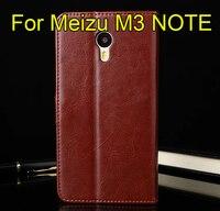 Meizu M3 Note Case 5 5 Inch Flip Wallet Genuine Leather Cover For Meizu M3 NOTE