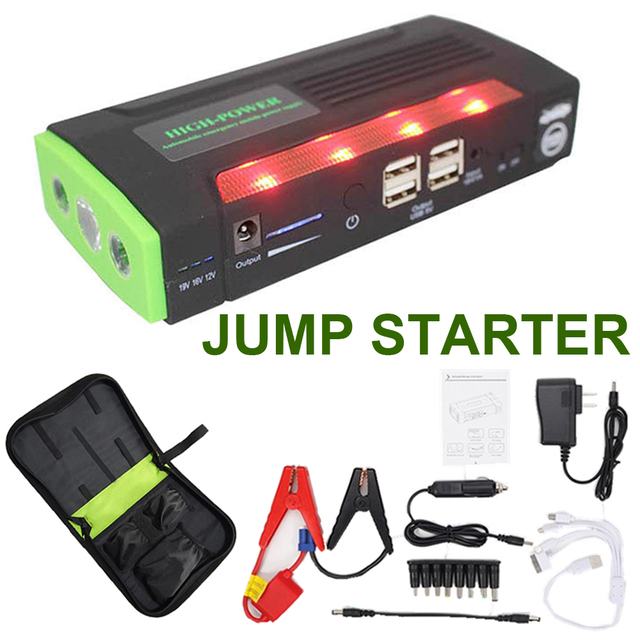 big sale Capacity Car Jump Starter Mini Portable Emergency Battery Charger for Petrol & Diesel Car Free shipping