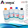 4 colors Waterproof ink 250ml Textile ink for Epson digital jet T1100 T30 T40W High light fastness Washing resistane