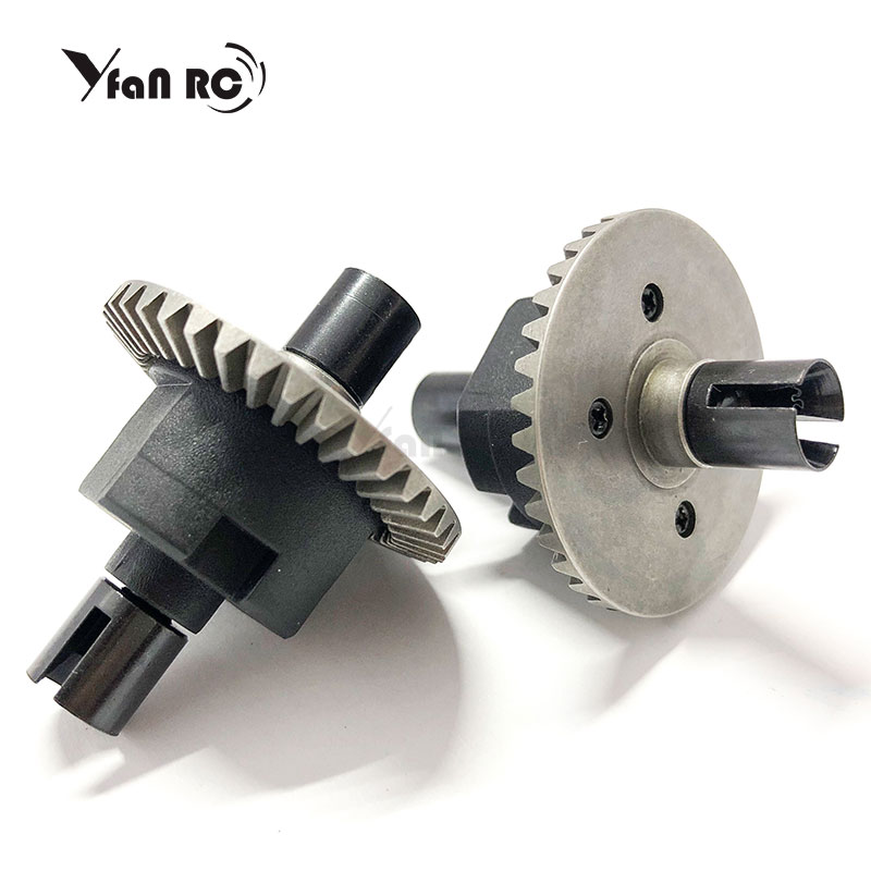 Free Shipping RC Car 1:10 HSP 02024 Differential Differential Gear Set 94122 94123 94111 General Differential