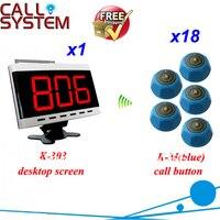 النادل دعوة 303 + m ، ضيف ببساطة اضغط زر جدول و النادل يعرف لخدمة عدد من شاشة العرض مجانا الشحن-في جهاز استدعاء من الكمبيوتر والمكتب على