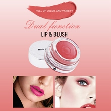 2 In 1 Matte Soft Mousse Lip Blush Makeup