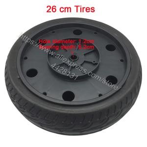 Image 5 - なし膨張させる必要がソフトタイヤ子供のための電気自動車、衝撃吸収ホイール、子供の電気自動車泡タイヤ