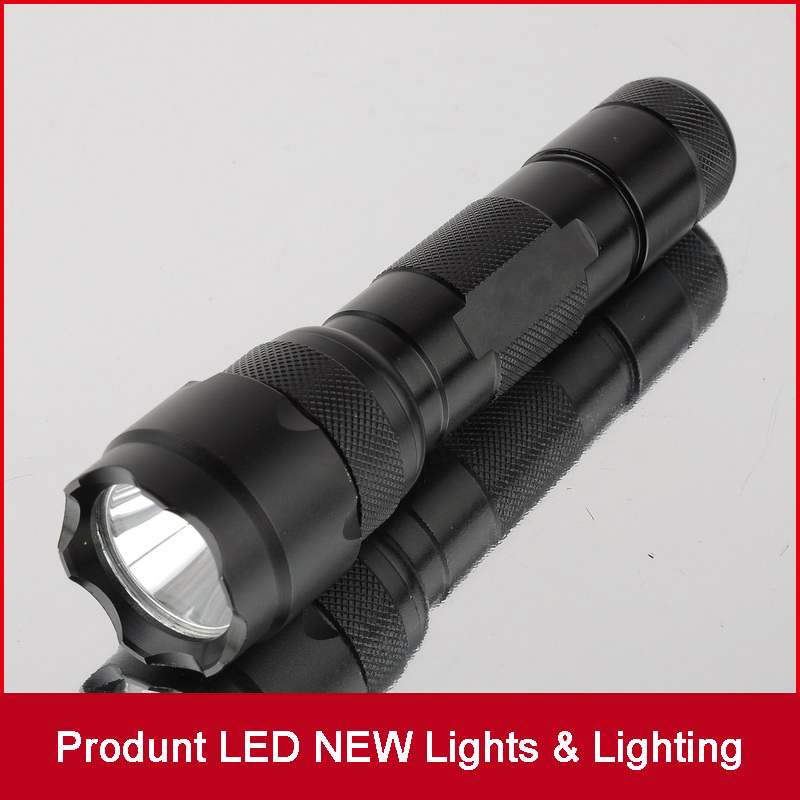 CREE XML XM-L T6 LED Flashlight 1000 lumens LED Torch 5 Modes Flash Light Water Resistant Camping Hiking for 18650 battery sk98 cree xml t6 1200lm 18650 water resistant zoomable led flashlight torch